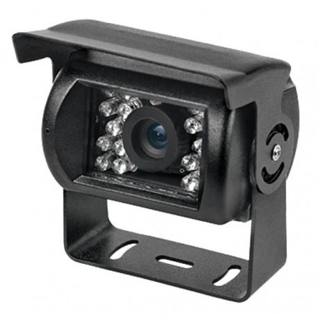Telecamera per retromarcia nera CCD 600 TVL 92° retro camper camion mezzi agricoli macchine operatrici