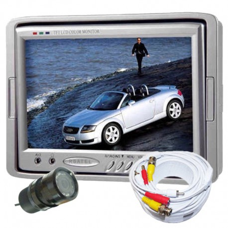 "Kit Retromarcia auto con monitor 7"" e telecamera con led 120° visuale"