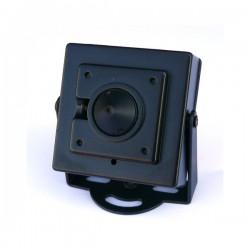 Telecamera Pin Hole Sony CCD 540 TVL FISHEYE con menù OSD a video