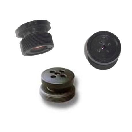 Obiettivo pin hole a bottone attacco S