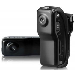 Mini DVR Action Clip con telecamera occultata, registra audio e video e scatta foto
