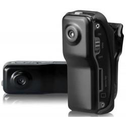 Mini DVR Action Clip con telecamera occultata, registra audio e video e scatta foto