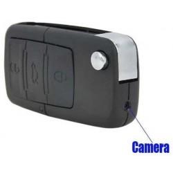 Chiave telecomando auto con telecamera occultata, registra audio e video e scatta foto