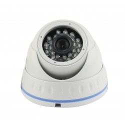 Dome CCD Sony 1.4 Mpx 1000 TVL Antivandalo 24 led infrarossi