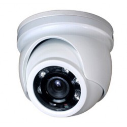 TELECAMERA DOME AHD 720P 3.6MM IP66 IK10 12 IR LED