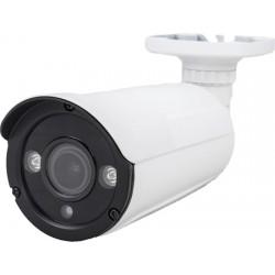 Telecamera Bullet AHD 2MPx 1080P quadri ibrida varifocale 2.8-12mm con 2 Led Array stagna IP67