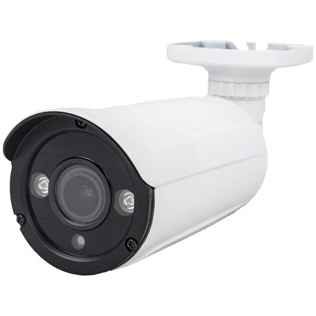 Telecamera Bullet AHD 2MPx 1080P quadri ibrida varifocale 2.8-12mm con 2 Led Array stagna IP67