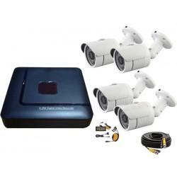 Kit videosorveglianza 4 canali AHD 720P