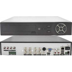 DVR 8 CANALI 5 in 1, 1080N, 1080P FULL HD CLOUD, 2 HDD, ALLARME IN e OUT