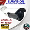 Telecamera Bullet 5MPx ibrida 4in1 lente 3.6mm 24 Led IR SMD