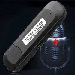 Chiavetta USB SPY 16Gb registra audio fino a 300 ore