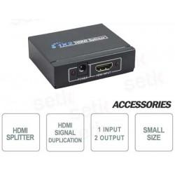 Splitter HDMI 1 ingresso 2 uscite