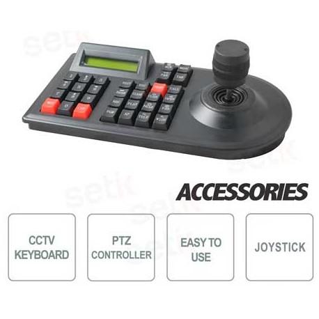 Tastiera con joystick per controllo PTZ 3D