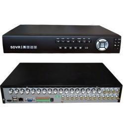S-DVR 16 ch. FULL D1 H.264 con 16 canali audio