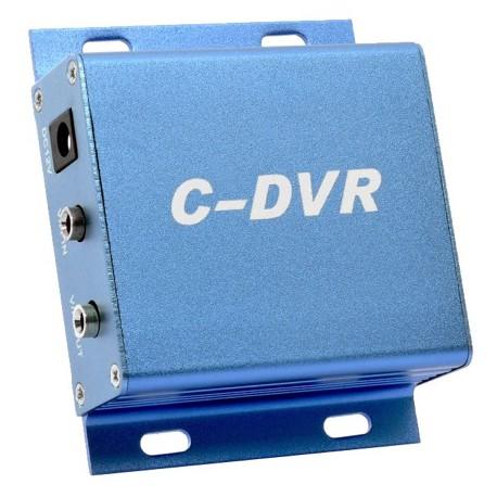 Mini DVR 1 ch. audio e video