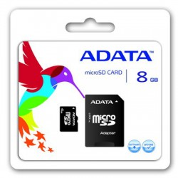 MICRO SD CARD 8 GB